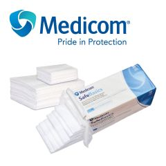 Medicom ~ Safe Basics General Purpose Non-Woven Sponges 200 Units WC2100