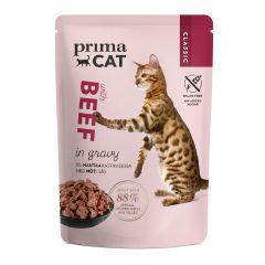 PRIMACAT - 經典無穀物風味牛主食濕糧(肉汁系列) 85g WCIMFW11667ZZ