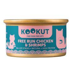 KOOKUT - 鮮蝦放養雞 (70g) (1罐 / 24罐) WCKUCW1008310_all