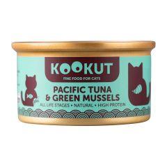 KOOKUT - 青口仔太平洋吞拿魚 (70g) (1罐 / 24罐) WCKUCW1010405_all