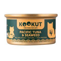 KOOKUT - 海藻太平洋吞拿魚 (70g) (1罐 / 24罐) WCKUCW1010429_all