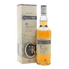 Cragganmore - 12 Years Old Speyside Single Malt Scotch Whisky (700ml x 1btl) (with box) WCRA00001