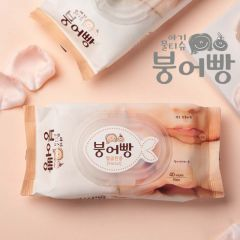 Boonguhbbang붕어빵 - Wet Tissue (Facial Red) - 40Pcs WETFACE