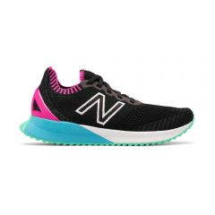 New Balance Womens Fuelcell Echo Black with Peony & Bayside