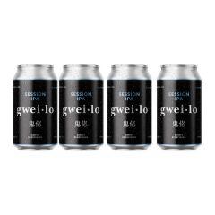 WGWL00003B4A gwei lo - IPA 330ml x 4 cans