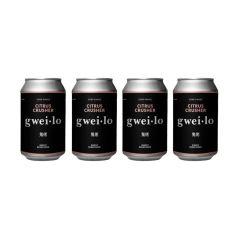 WGWL00004B4A gwei lo - Citrus Crusher 330ml x 4 cans
