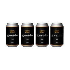 WGWL00007B4A gwei lo - Hoppy Wheat 330ml x 4 cans