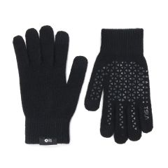 Wizglove - 觸控絨毛手襪 (黑) - 韓國製‧寒冬中直接操控 WIZ08-BK-GLO