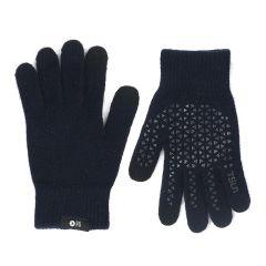 Wizglove - 觸控絨毛手襪 (深藍) - 韓國製‧寒冬中直接操控 WIZ08-NV-GLO