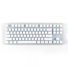 Womier - K87 Semitransparent 66 Keys Mechanical Gaming Keyboard RGB Backlit  (Gateron Red / Blue / Brown Switch) WOM_K87_all