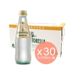 Mangiatorella - 天然低礦物質有氣礦泉水 - 250毫升(30支)