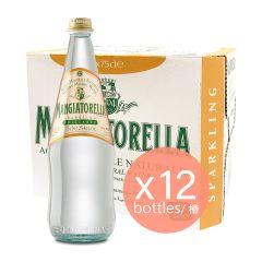 Mangiatorella - 天然低礦物質有氣礦泉水 - 750毫升(12支)