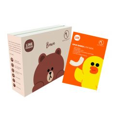 Nion Beauty- LINE FRIENDS Christmas Set (Deluxe Brown & Renew Sally ) XMASGS679