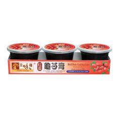 美味棧 - 紅棗龜苓膏 (220克 x 3) YH0320