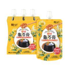 美味棧 - 蜂蜜椰果唧唧龜苓膏 (250克 x 3) YH0559
