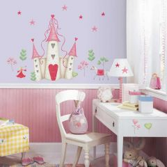 ROOMMATES - PRINCESS CASTLE GIANT WALL DECAL YH1328M