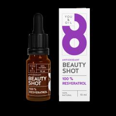 You & Oil - Beauty Shot for Face:100% Resveratrol 10ml YNOBSR-240