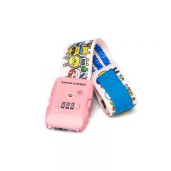 Kakao Friends Luggage Strap with TSA Combination Lock YT2902