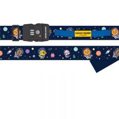 Kakao Friends (Space Theme) Luggage Strap with TSA Combination Lock YT3102