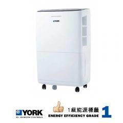 York 約克 24L抽濕機 -1級能源標籤 YTF24LDEAX YTF24LDEAX