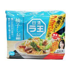 日清 - 拉王柚子鹽拉麵-5包裝 465克 (1件 / 3件 / 6件) (平行進口貨品) YUZUSHIO_ALL