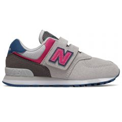 New Balance Lifestyle 574 Girls Light Grey