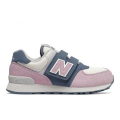 New Balance Sport Lifestyle Girls 574 Summer Sport - 灰色/ 粉紅色 YV574JHGW