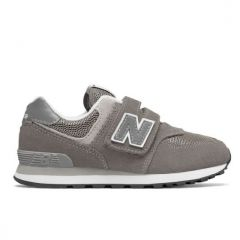 New Balance - Kids Lifestyle Boys 574 Core Grey YV574SPUW