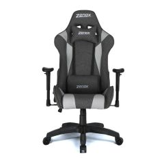 Zenox - Saturn Racing Chair (Grey Fabric) Z-6015-GR1