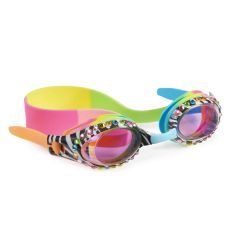 Bling2O - Swim Goggles - Zebra Crossing - Black Multi ZBA06628
