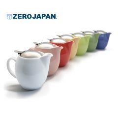 ZERO JAPAN - 陶瓷不銹鋼蓋茶壺(580cc) 禮盒套裝 ZG-003-all