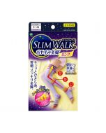 Slimwalk Compression socks for night: Tightish fit (Lavender)[Made in Japan] S-M