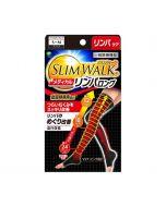 Slimwalk Compression Medical Lymphatic Socks For Night (Long type/Black)[Made in Japan] S-M