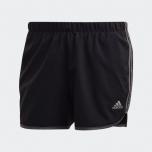 adidas -  Runnng Women Marathon 20 短褲  - 黑色/灰色
