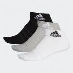 adidas 緩衝短襪 3 對