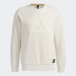 adidas Men Badge Of Sports Th Swt Dk Bos Graphic Sweatshirt (Long Sleeve) Alumina
