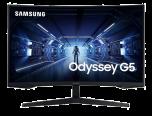 "Samsung 32"" Odyssey G5 WQHD QLED 1000R 144Hz曲面電競顯示器 LC32G55TQWCXXK"