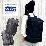Cosby - 70006 28L 方形背囊 (黑色 / 藍色 / 灰色)