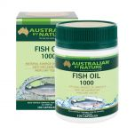 Australian by Nature Omega 3 Fish Oil 1000mg - 100 Capsules ABN00624