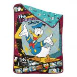 """Uji Bedding - 1900 thread count Bamboo Textile Characters Summer Quilt - Donald Duck - Single (60""""x90"""") BCSQ60-DD2101"""