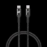 Momax Elite Link Lightning 至 Type-C 連接線 (1.2米黑色)