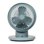 Modern Deco Sunrize YY03 360 degree rotary table circulation fan (gray) MOD04