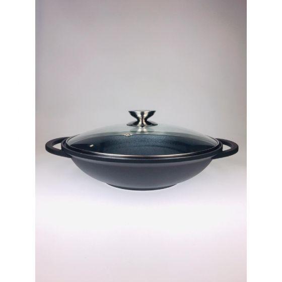 Special Enduro - 32厘米中式炒鑊連玻璃蓋及筷子 0012016632
