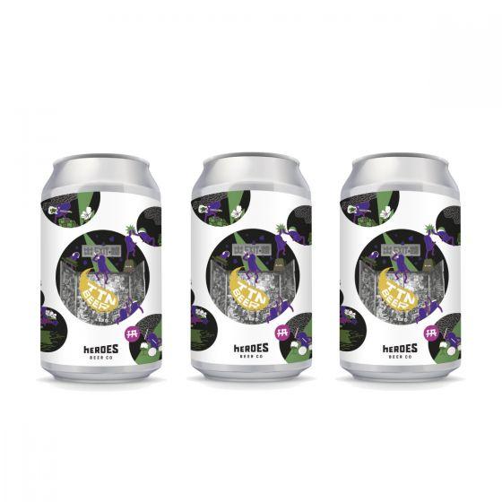 Heroes This Town Needs Beer 茉莉夏日啤 (Jasmine Summer Ale) 香港本地手工啤酒 330ml 3罐裝 W00375