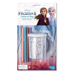4M - Frozen II Colour-in-mug 00-06200