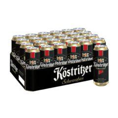 [Full Case] Kostritzer Schwarzbier 500ml Can x 24