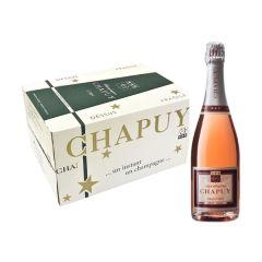 [原箱] Chapuy Brut Rose 查普王玫瑰香檳 WS 91 10217928