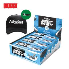 Atlhetica - Sugar free - High-protein Nutrition Bar (Cookies & Cream)12 pcs/box 11977
