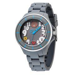 LINE FRIENDS 成人運動型八達通手錶 - All Grey 122.7202