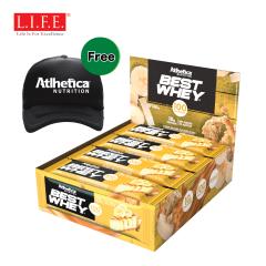 Atlhetica - Sugar free - High-protein Nutrition Bar (Caramelized Banana)12 pcs/box 14002